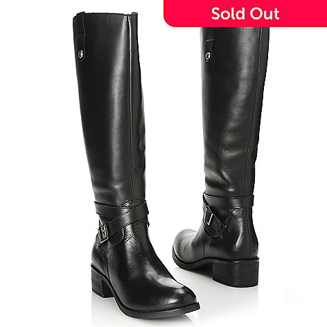 713-737 - Matisse Leather Buckle Detailed Knee-High Boots