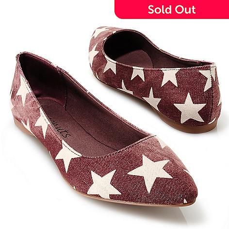 713-754 - Matisse Star Pattern Ballet Flats