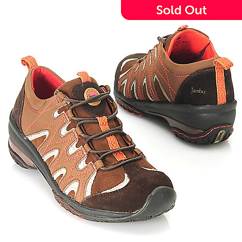 713-773 - Jambu Suede Leather Zigzag Design Lace-up Shoes