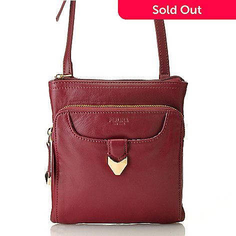 713-799 - Perlina New York Napa Leather Convertible Cross Body Bag