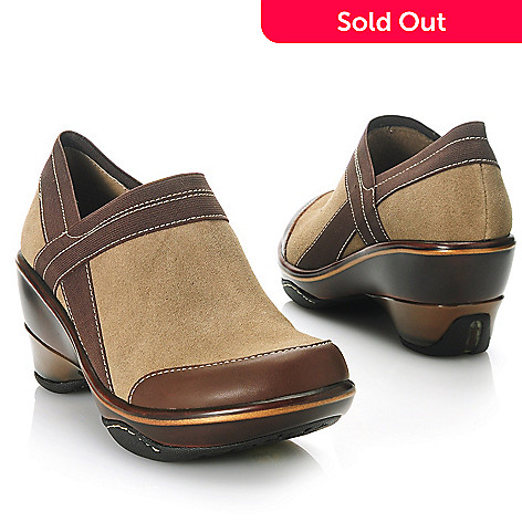 713-865 - Jambu Leather Memory Foam Slip-on Clogs