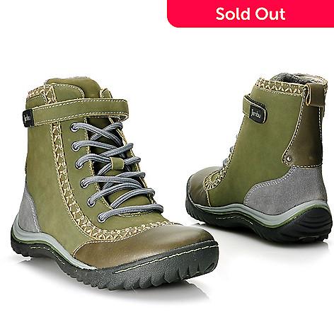 713-866 - Jambu Leather Memory Foam Lace-up Short Boots