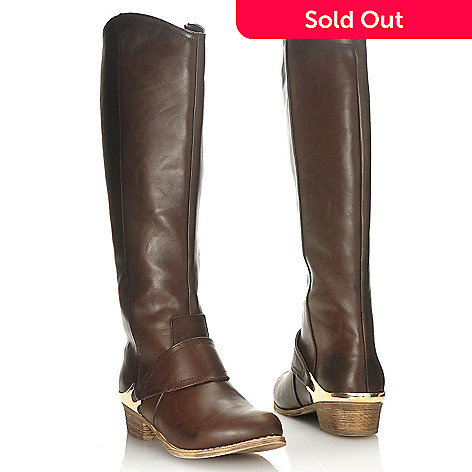 714-093 - MIA Smooth Side Zip Riding Boots