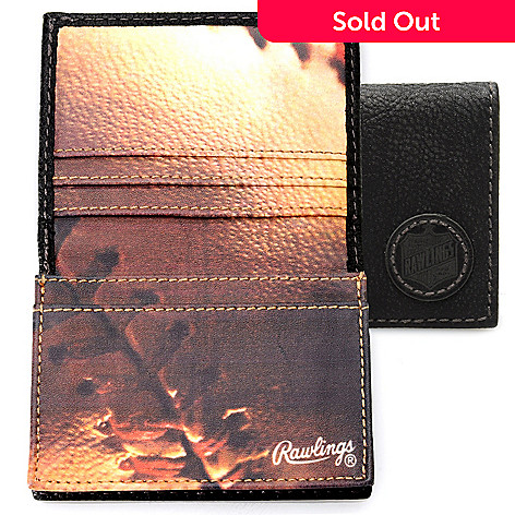 714-559 - Rawlings Men's Leather Bi-Fold Card Case