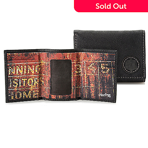 714-560 - Rawlings Men's Leather Tri-Fold Wallet