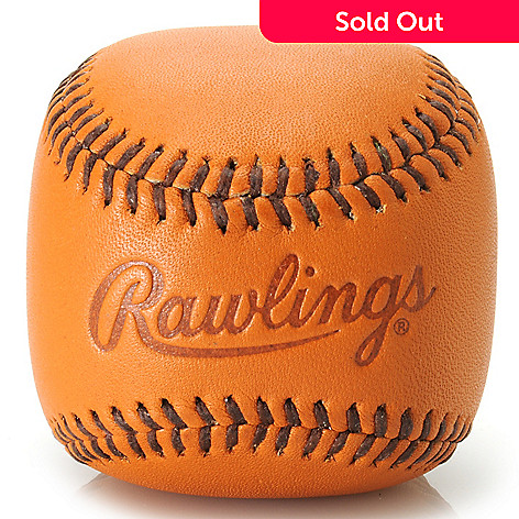 714-561 - Rawlings Leather Baseball Paperweight