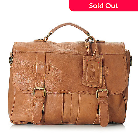 714-563 - Rawlings Men's Leather Flap Over Briefcase
