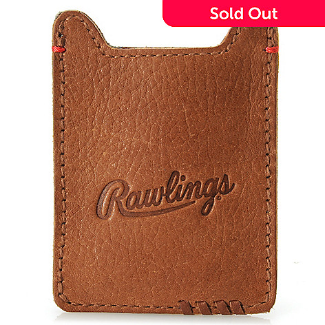 715-446 - Rawlings Men's Leather Front Pocket Money Clip