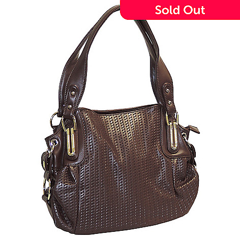 715-601 - Buxton Embossed Weave Pattern Hobo