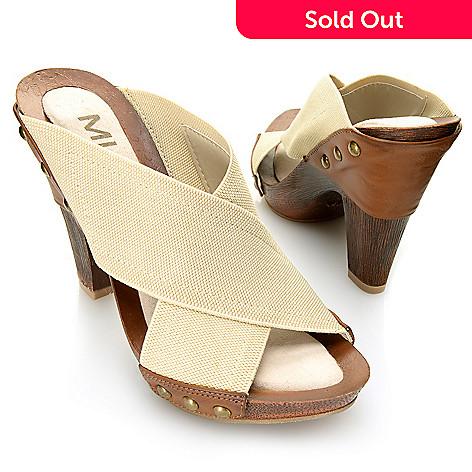 715-890 - MIA Crisscross Peep Toe Platform Sandals