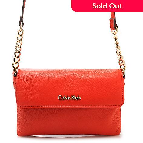 716-935 - Calvin Klein Handbags Pebbled Leather Cross Body
