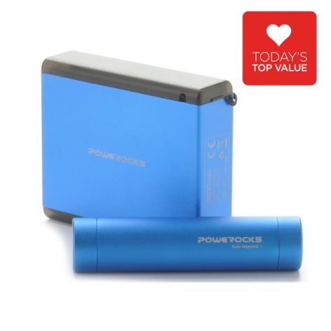 440-856 - Powerocks 9000mAh & 2800mAh Set of Two Portable Chargers