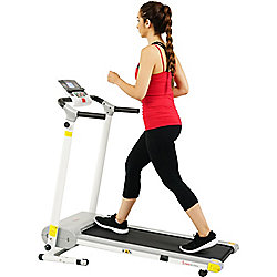 Sunny Health & Fitness Easy Assembly Motorized Treadmill