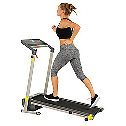 Sunny Health & Fitness Space-Saving Folding Treadmill