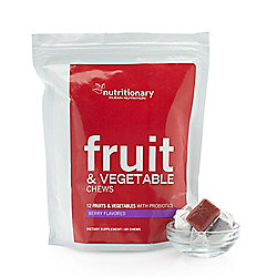 Heather Thomson Superfoods Probiotic Fruit & Vegetable Chews (60 Count)
