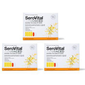 002-312 SeroVital Advanced Anti-Aging & Dietary Supplement (Choice of Supply) - 002-312