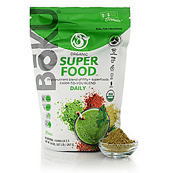 BoKU Superfood Organic Daily Nutrient Powder Original Formula 9.4 oz Pouch