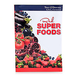 Red Superfoods by Dr. Tony O'Donnell Paperback Book