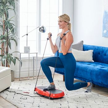 Fitness At Home Something For Every Fitness Level - 002-701 Medic Therapeutics Vibrating Fitness Platform w Resistance Bands & Remote - 002-701
