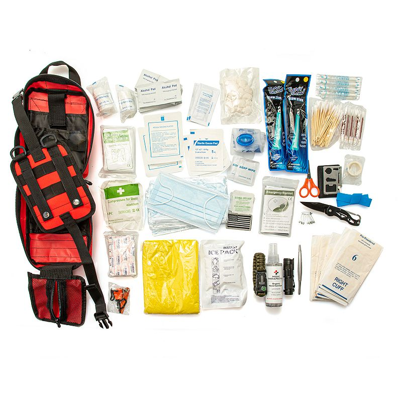 Compact 261 Piece Essentials Survival Kit  - 002-735