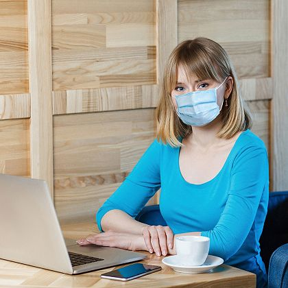Safe Social Distancing Tools to Protect You & Your Family - 002-736 Medic Therapeutics 50 Breathable Face Masks for Personal Use