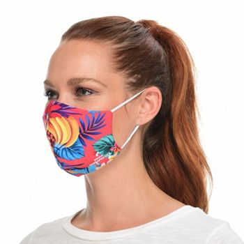 Face Masks Shop the New Patterns - 002-748 Medic Therapeutics 5 Pack Hawaiian Fashion Face Masks Choice of Size - 002-748
