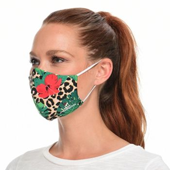 Face Masks Set of 5 Masks Starting at $9.99 - 002-748 Medic Therapeutics 5 Pack Hawaiian Fashion Face Masks Choice of Size - 002-748