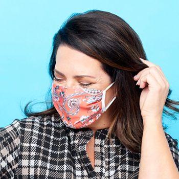 Face Masks Set of 5 Masks Starting at $9.99 - 002-755 Medic Therapeutics 5 Pack Choice of Fashion Face Masks - 002-755
