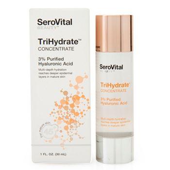 SeroVital Tune In At 3PM & 9PM ET - 003-480 SeroVital TriHydrate Concentrate 3% Hyaluronic Acid 1 oz - 003-480