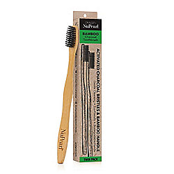 NuPearl Charcoal Infused Bamboo Toothbrush