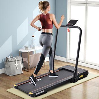 005-151 Living Essentials Portable Slim Fold Treadmill w Bluetooth Audio - 005-151