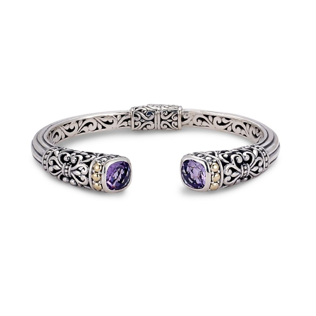 Bangle ....925 Sterling Silver Plated...516 Wide Top...Buy 3 Bangles Get a 4th  FREE