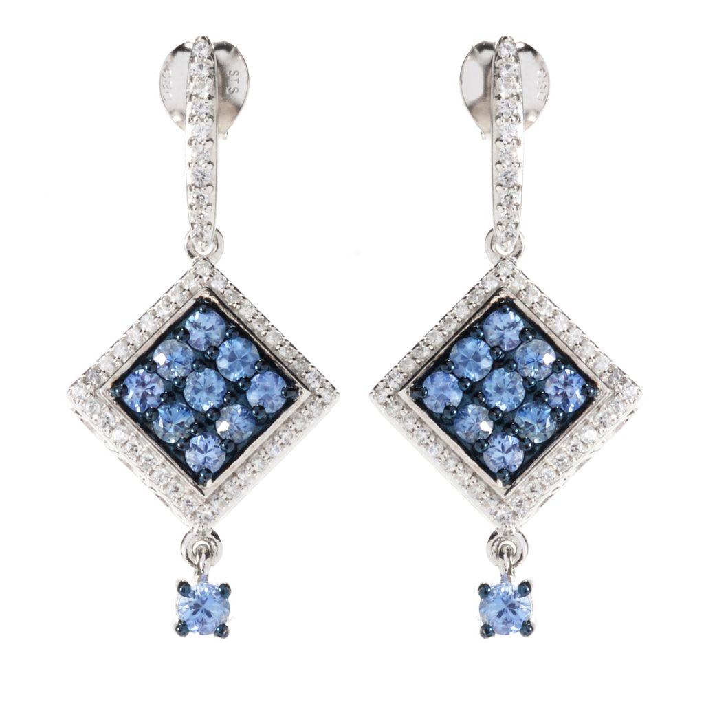 Fabric Earrings, Statement Earrings, Geometric Earrings, Dangle Earrings Colorful Hand-Cut Textile Earrings 133