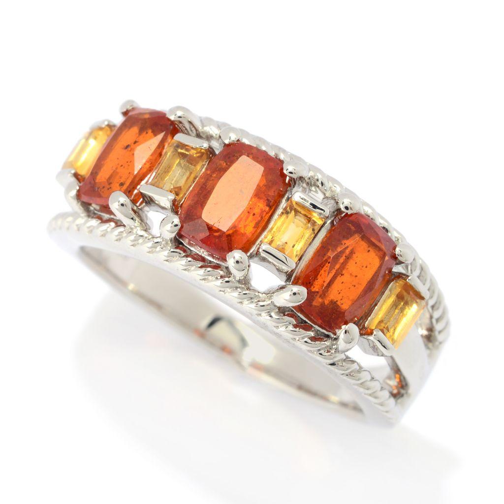 Orange Kyanite ring