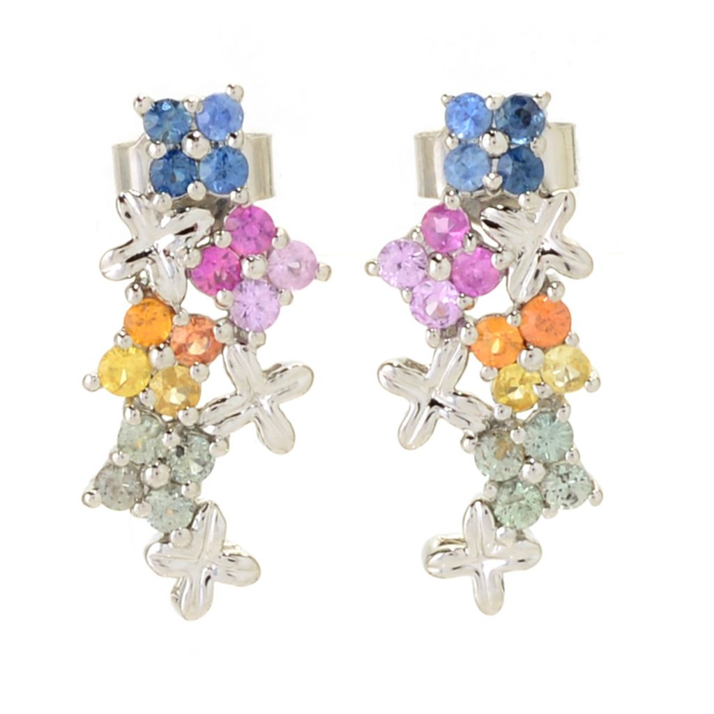 Blossom Cluster Earrings Available in 6 Colors
