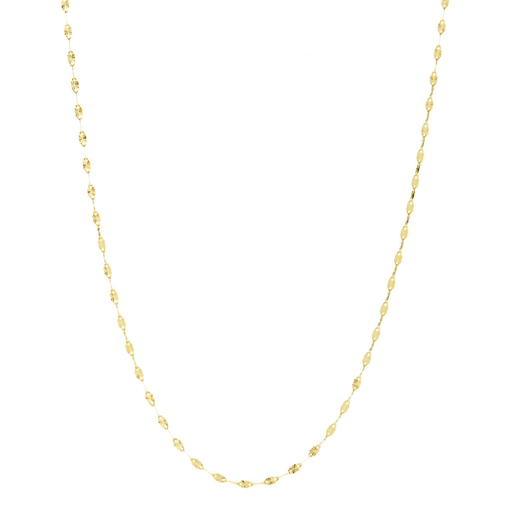 Viale18k Italian Gold Choice Of Length Sole Link Chain Necklace Shophq Set push notification on to get real time updates on restocks. viale18k italian gold choice of length sole link chain necklace