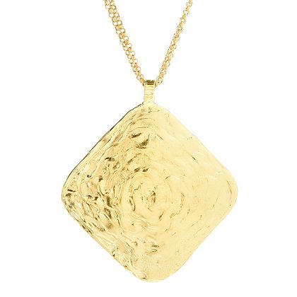 Lowest Prices Ever New Items Added Daily -191-723 Golden Odyssey Choice of Plating Monet Finish Pendant w 18 Chain & 2 Ext