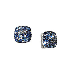 EFFY Sterling Silver 4.72ctw Sapphire Stud Earrings