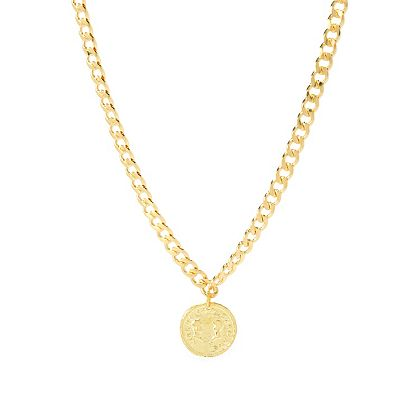MAYAMAR Buy More & Save on Shipping 193-994 MAYAMAR CUBAN LINK 5MM NECK WITH CHARM - X + X EXT