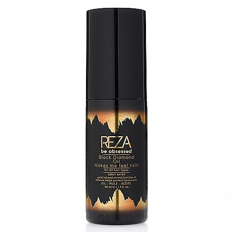 Reza Be Obsessed Haircare Black Diamond Oil 1 7 Oz Shophq