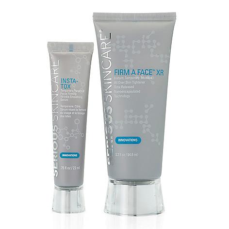 Serious Skincare InstaFirm Duo w/ InstA-Tox Serum & FirmAFace Skin  Tightener - ShopHQ
