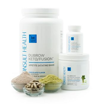 Consult Get Healthy for The Holidays - 316-116 Consult Health KetoFusion Daily Dietary Supplement Trio - 316-116