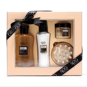 Gift Sets Ready to Wrap - Starting at $15 - 316-513 Style & Grace 4-Piece Back To Nature Massage Kit - 316-513
