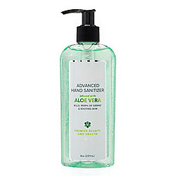 Premier Beauty & Health 8 oz Advanced Hand Sanitizer w/ Aloe Vera