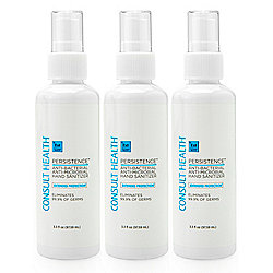 Consult Health Persistence Protection Spray Family Pack Trio 3.3 oz Each