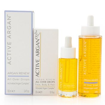 Gifts for the Beauty lover - 317-056 Active Argan Home & Away All Over Drops Duo 1 oz & 3.4 oz - 317-056