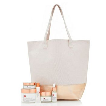 6 ValuePay® Payments On The Latest Beauty & Health Finds -  317-537 Consult Beaute Copperum29 5-Piece Wrinkle Repair Kit w Tote Bag - 317-537
