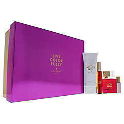 Live Colorfully by Kate Spade for Women 4-Piece Gift Set