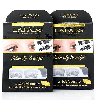 Makeup & More Must-See New Arrivals  - 319-799 LaFabs Home & Away Duo Magnetic Lashes w Easy Applicator