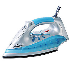 Brentwood Adjustable Heat Control Nonstick Solepate Steam Iron